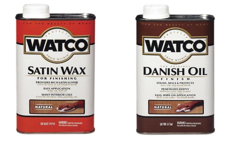 Watco Satin Wax Vs Danish Oil